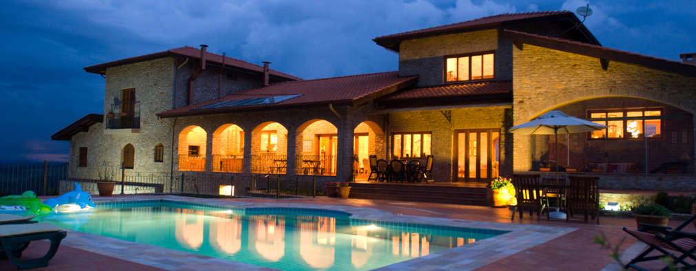 منازل تنفيذ Tikkanen arquitetura
