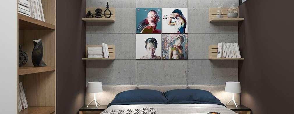 minimalistic Bedroom by PlatFORM