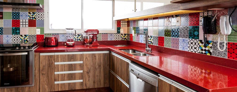 مطبخ تنفيذ Tikkanen arquitetura