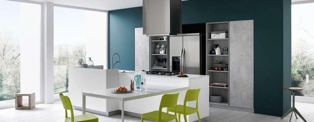 5 colori di tendenza per le pareti della cucina - I colori della cucina ...