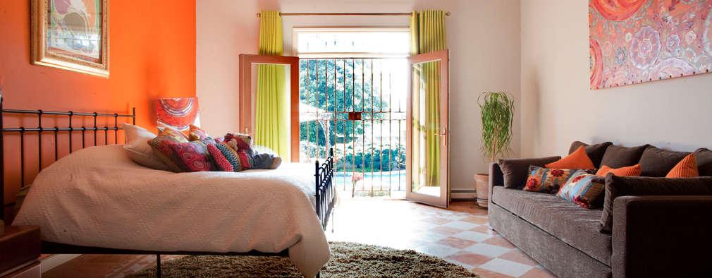 Habitaciones de estilo ecléctico por Erika Winters® Design