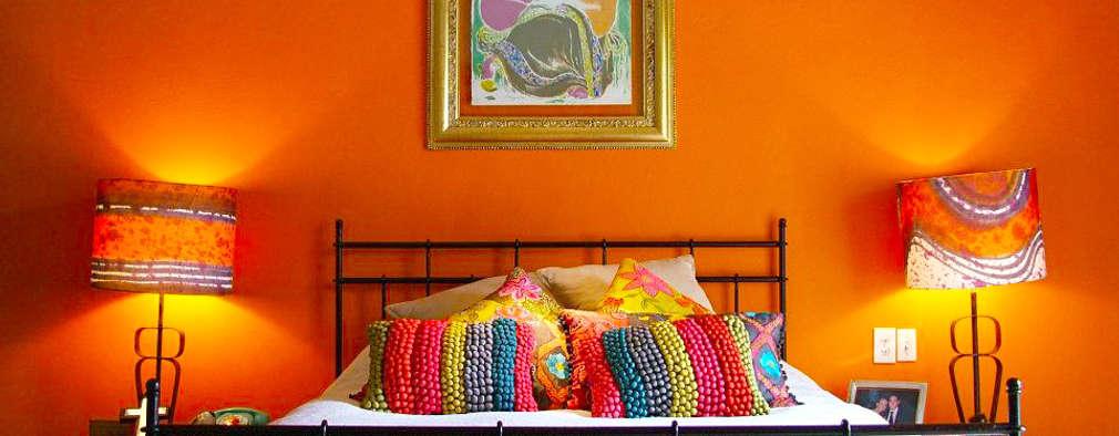 Dormitorios de estilo ecléctico de Erika Winters® Design
