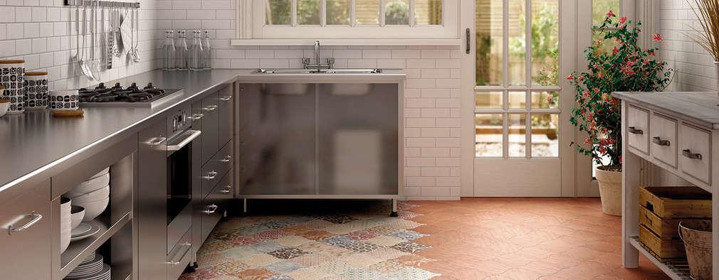 Rustikale Küche Von Equipe Ceramicas