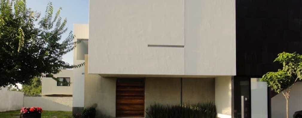 modern Houses by Abraham Cota Paredes Arquitecto