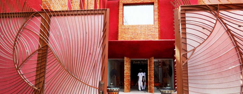 Casas de estilo moderno por arqflores / architect