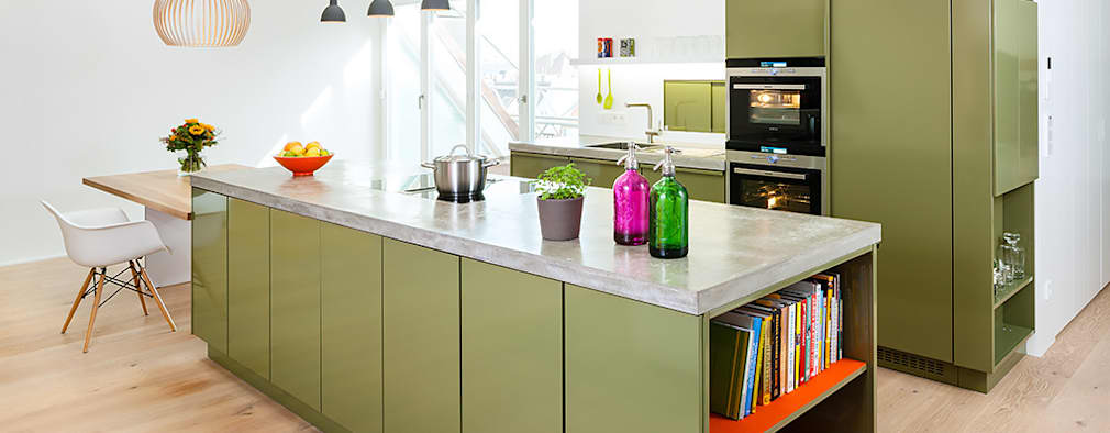 Bunte Küchen aus Bayern