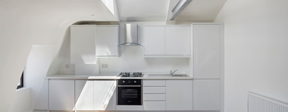 Kitchen: modern Kitchen by REIS LONDON LTD