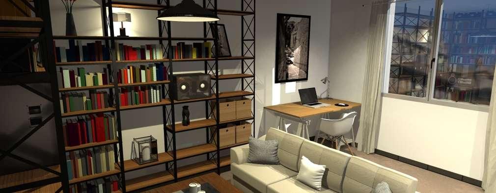 Casas de estilo industrial por ARtchidesign