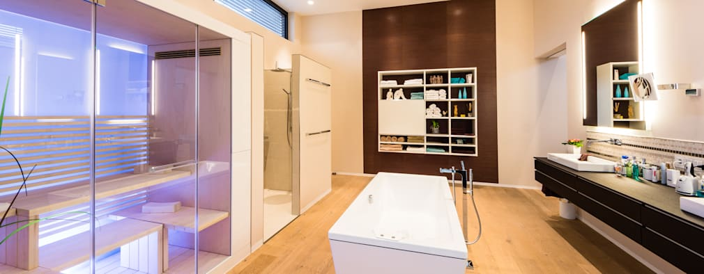 Spa de style de style Moderne par Helwig Haus und Raum Planungs GmbH