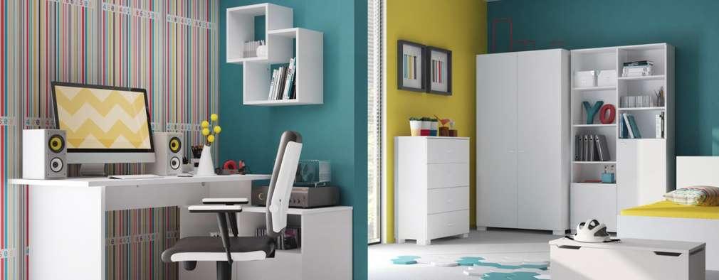 Uni White: Minimalistische Kinderzimmer Von Möbelgeschäft MEBLIK
