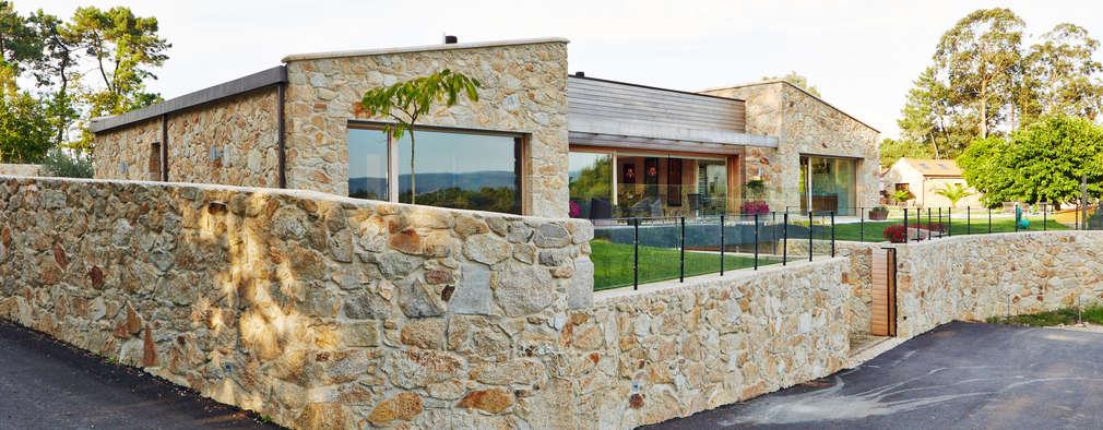 10 fachadas r sticas que te encantar n for Fachadas rusticas de piedra y ladrillo