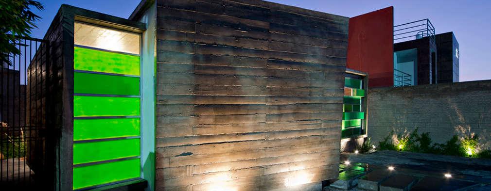 10 incre bles ideas de fachadas para casas peque as for Ideas fachadas de casas pequenas
