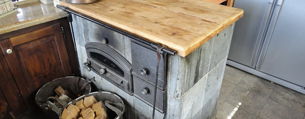Cocinas de estilo rústico por zanella architettura