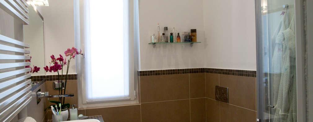 minimalistische Badkamer door Studio_P - Luca Porcu Design