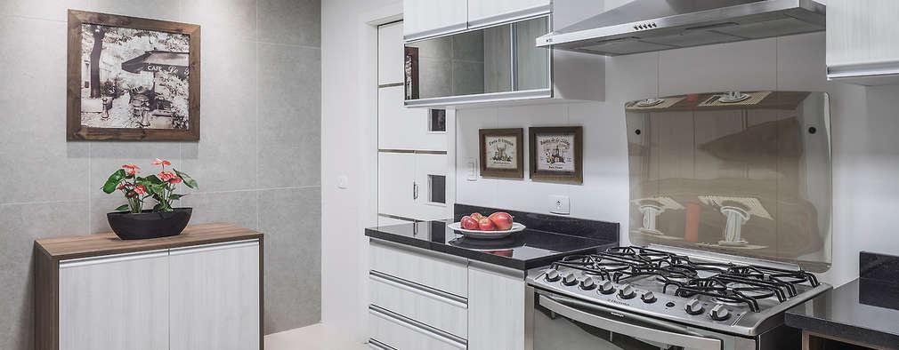 modern Kitchen by Lúcia Vale Interiores