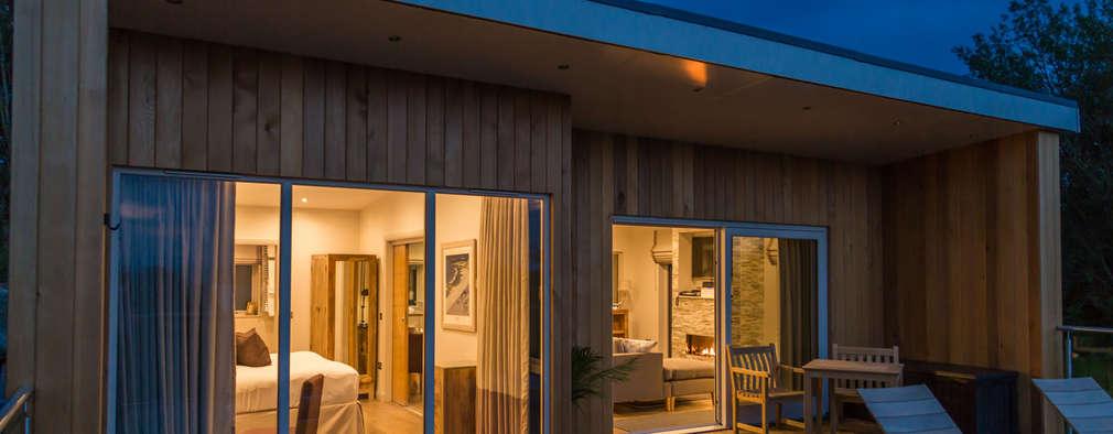 Casas de estilo moderno por Applecrate