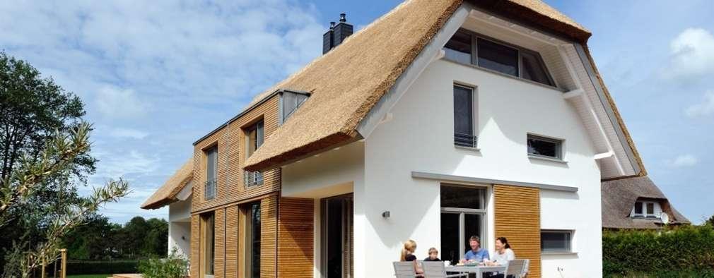 moderne Huizen door die raumplaner