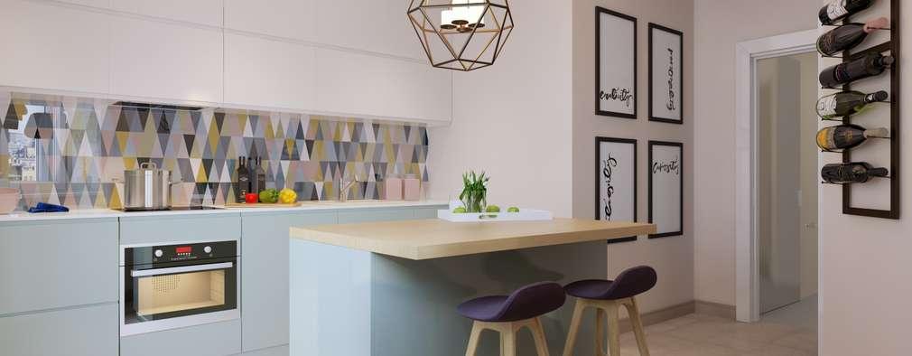 Cocinas de estilo escandinavo por Anna Clark Interiors