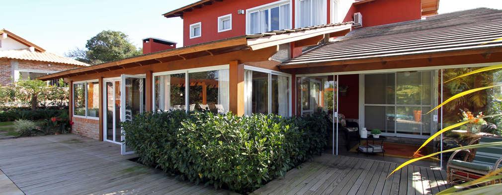 บ้านและที่อยู่อาศัย by Graça Brenner Arquitetura e Interiores