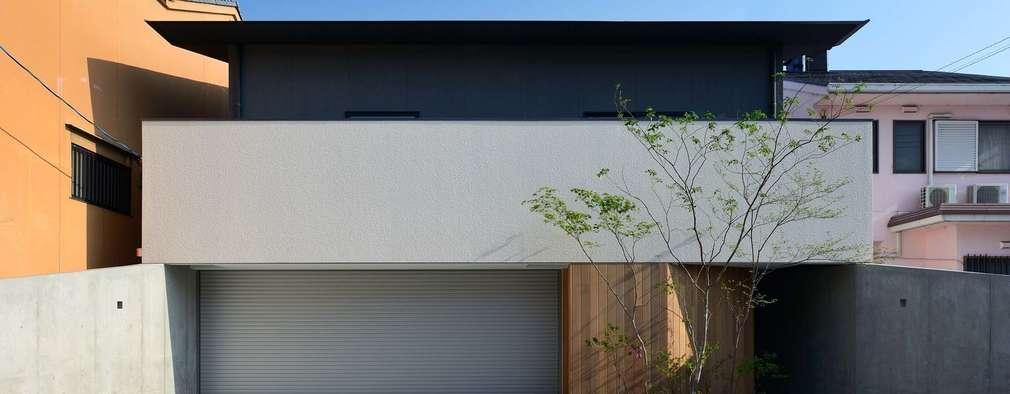 Projekty,  Garaż zaprojektowane przez 設計組織DNA