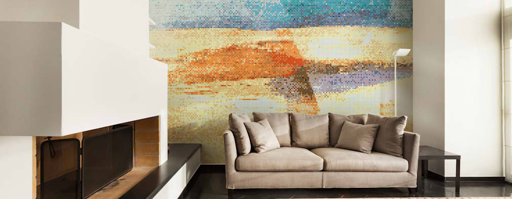 Lato 3: styl , w kategorii Ściany zaprojektowany przez Trufle Mozaiki