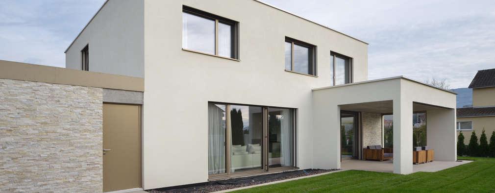 Projekty, nowoczesne Domy zaprojektowane przez Architekturfotografie Sabrina Scheja