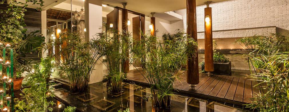 Jardines De Estilo Ecléctico Por Kumar Moorthy U0026 Associates