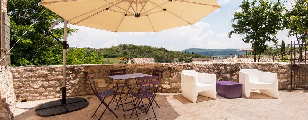 Toldos 10 propuestas fant sticas para proteger tu terraza - Como cubrir una terraza ...