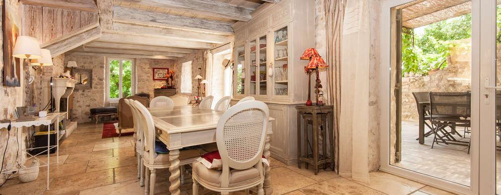 L'envers du décor: Salle à manger de style de style eclectique par Pixcity