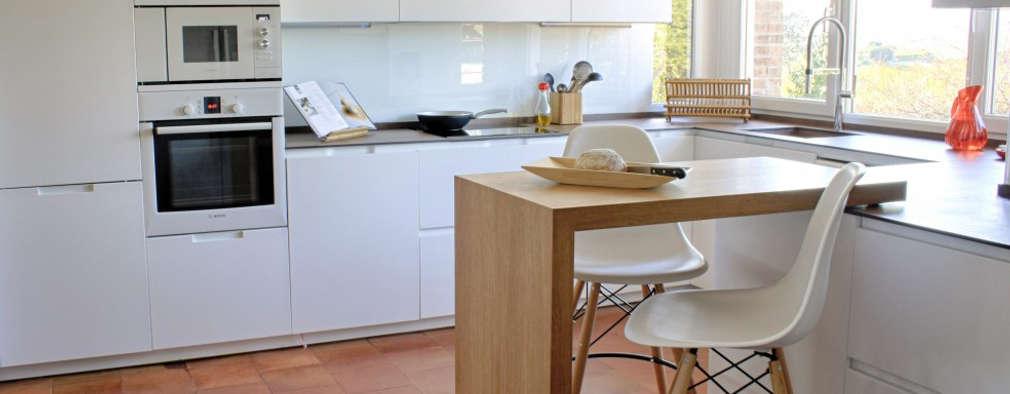 مطبخ تنفيذ Calizza Interiorismo