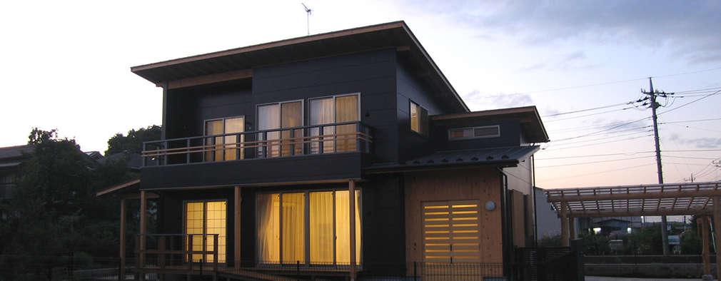 Nhà by 八島建築設計室