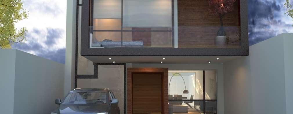 Maisons de style de style Moderne par Xome Arquitectos