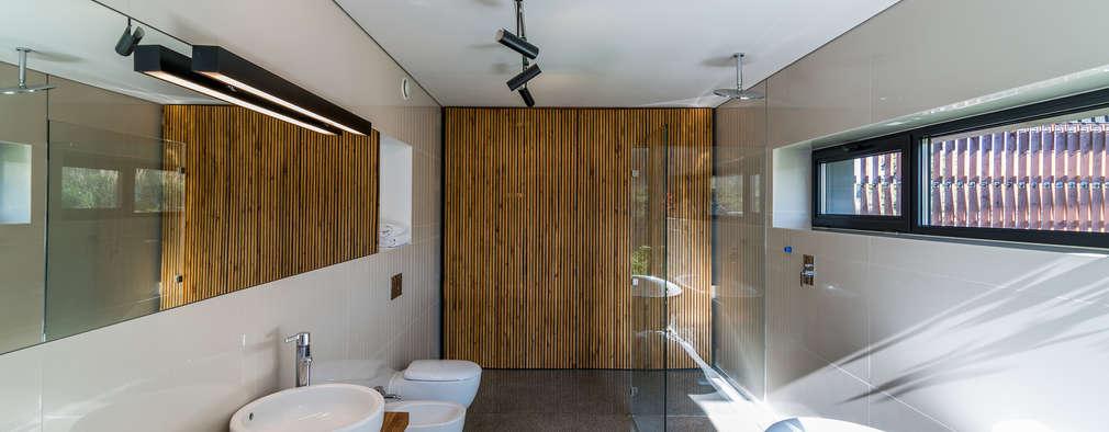project: styl , w kategorii Łazienka zaprojektowany przez Kropka Studio