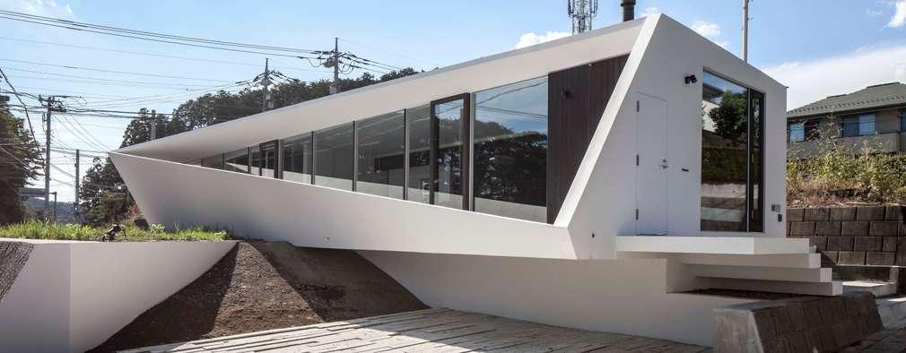 交差点: 後藤武建築設計事務所が手掛けた家です。