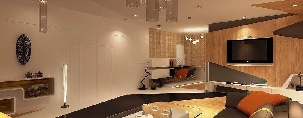 MR.HIRANYA ASHAR'S RESIDENCE :   by NEX LVL DESIGNS PVT. LTD.