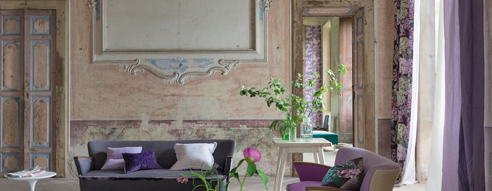 rustic Living room by Designers Guild