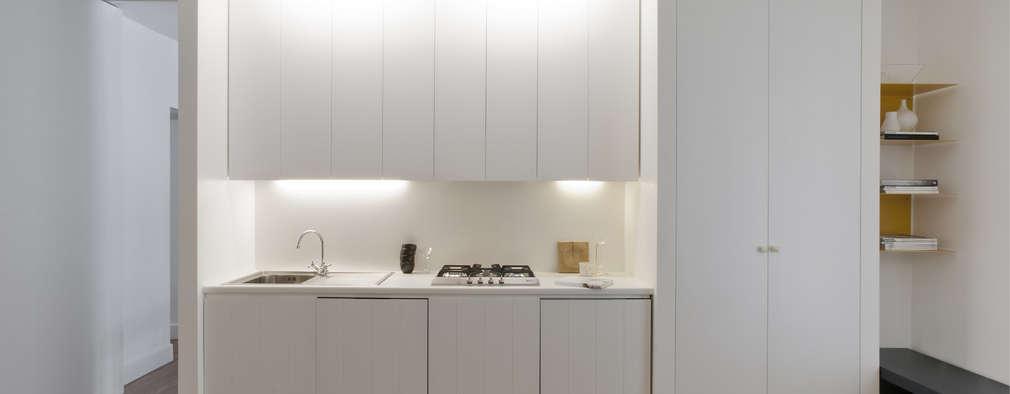 Via Castaldi - Milan: Case in stile in stile Moderno di Fabio Azzolina Architetto