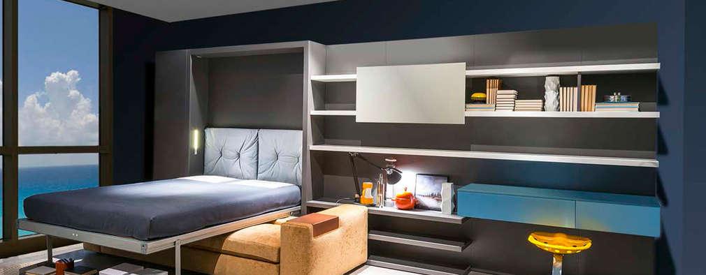 ห้องนอน by Resource Furniture