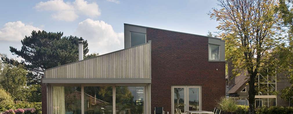modern Houses by Groeneweg Van der Meijden Architecten