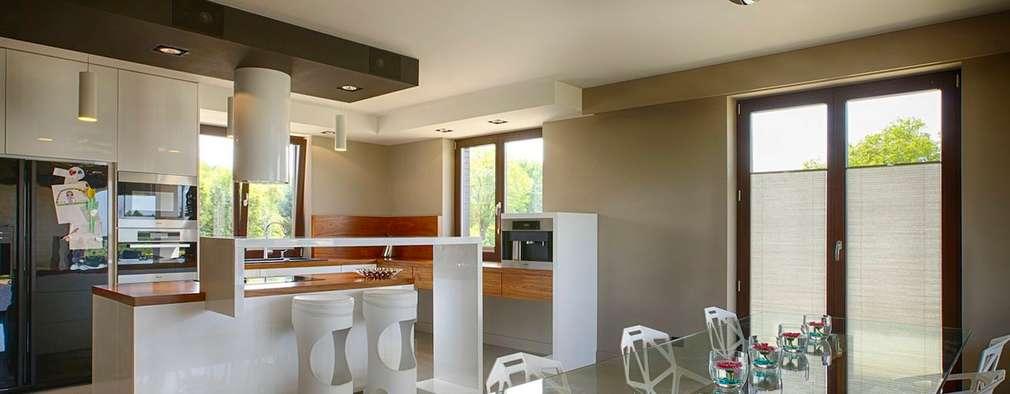 modern Kitchen by Studio Projektowe Projektive