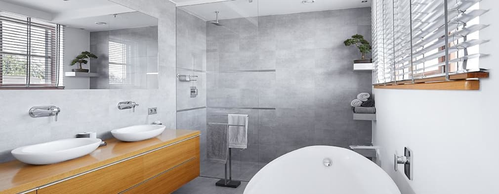 Moderne Badezimmer Von ARCHiPUNKTURA .architekci Detalu