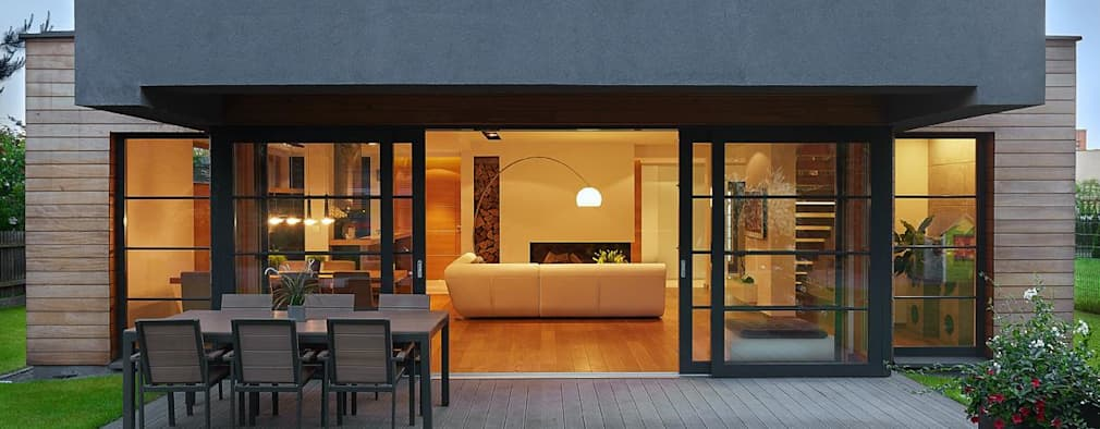 Terrace by ARCHiPUNKTURA .architekci detalu