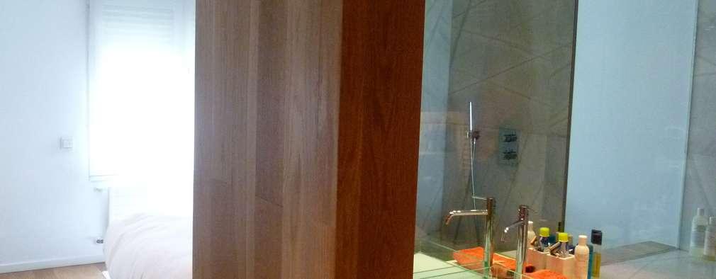 Maroto e Ibañez Arquitectos: modern tarz Yatak Odası