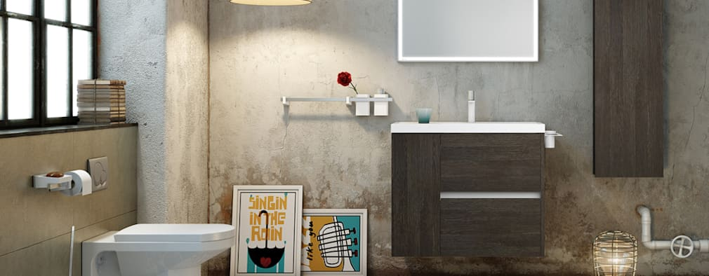 Casa de banho  por SONIA