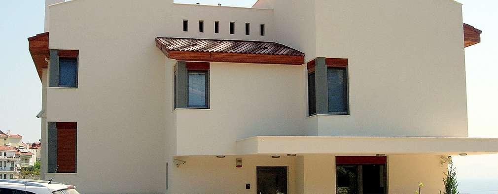 Projekty, nowoczesne Domy zaprojektowane przez Etüd Mimarlık Müşavirlik İnş. San. Tic. Ltd. Şti.