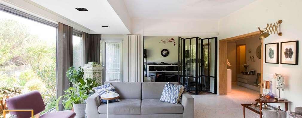 Ruang Keluarga by HANDE KOKSAL INTERIORS