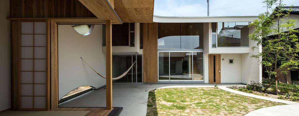 被衣の家: y+M design officeが手掛けた家です。