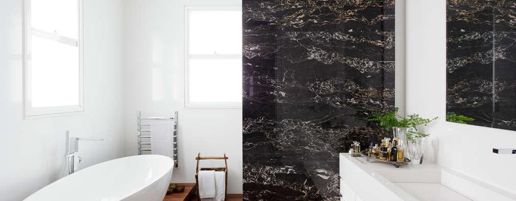 minimalistic Bathroom by Consuelo Jorge Arquitetos