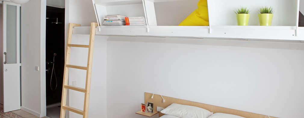 Спальни в . Автор – Miel Arquitectos