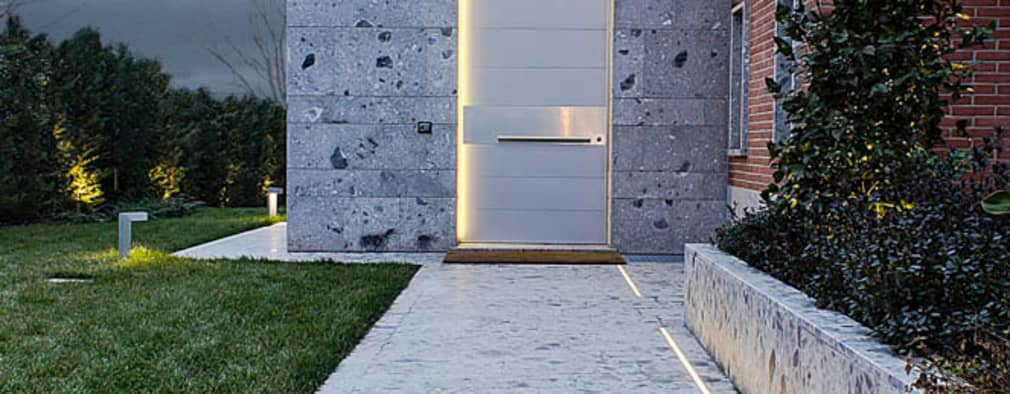 Projekty,  Drwi wejściowe zaprojektowane przez Matteo Gattoni - Architetto